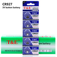 5PCS CR927 DL927 BR927 3V Li Li-on 30MH Button Battery Coin Cell for toy Clock