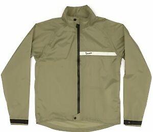 Vespa Regenjacke grün Rain Jacket Jacke 605588m0 mit Reflektor GR XL