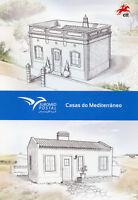 Portugal 2018 CTO Mediterranean Houses EUROMED 2v Spc Folder Architecture Stamps