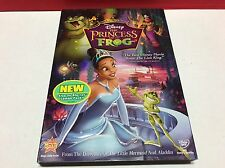 The Princess and the Frog DVD Disney New with Slipcover Free Shipping