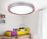Modern Simplicity Pink LED Diameter 49CM Height 11CM Bedroom Ceiling Light