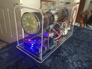 Oscilloscope Clock 3ACP7A CRT Cathode ray tube scope clock OSC7.1 auto time dat