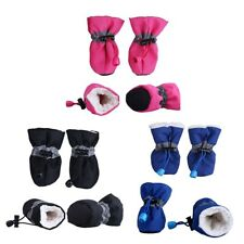 Winter Small Dog Anti-Slip Rain Boots Puppy Shoes Pet Protective Sock Booties