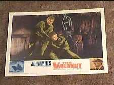 VALIANT 1962 LOBBY CARD #8  JOHN MILLS NAVAL MILITARY