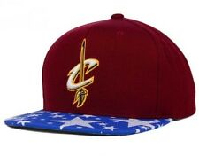 Cleveland Cavaliers Mitchell & Ness NBA Star Brim Adjustable Snapback Cap Hat