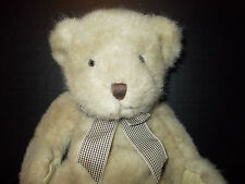 "VIntage Russ Berrie 16"" Teddy Bear Plush Stuffed Toy TRAFALGAR #1787"