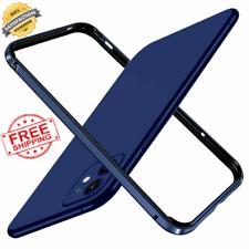 Marco De Aluminio Metal Antigolpes Funda para Estuche Rígida Delgada iPhone 12 Pro Max 12 Mini