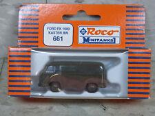 Roco Minitanks (New) Modern US Ford FK 1000 Van Lot 924K