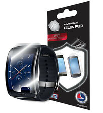 IPG Samsung Gear S 2X Invisible Shield SCREEN Smart Watch Protector Skin Guard