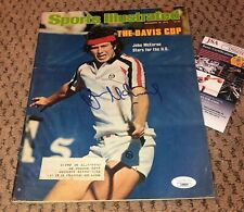 JOHN MCENROE SIGNED SPORTS ILLUSTRATED MAGAZINE AUTOGRAPH TENNIS MAC JSA