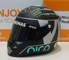 2016 Nico Rosberg Mercedes Championship 1/2 Scale Schubert Mini Helmet Casque