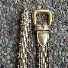 Vintage Donna Katz Gold Bronze Belt Size S