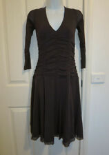 PORTMANS Size S/10 Career/Work/Evening Dress Chocolate Brown Excellent Condition