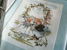 CROSS STITCH CHARTS SERAPHINA MICE MOUSE WEDDING BRIDE GROOM CHART ONLY