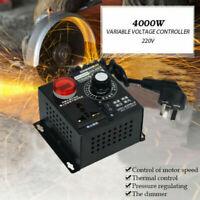 AC 220V 4000W Variable Voltage Regulator Speed Motor Fan Control Controller