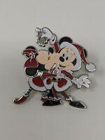 Minnie Kissing Santa Mickey Under Mistletoe Holiday Christmas 2020 Disney Pin