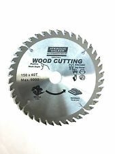 150mm x 20/16mm BORE x 40 TOOTH TCT PRO CIRCULAR SAW BLADE FOR WOOD