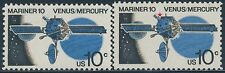 """#1557 Var. """"Mariner 10 Space"""" """"*"""" Red Color Shifted Error (2) Diff. Bs7899"""