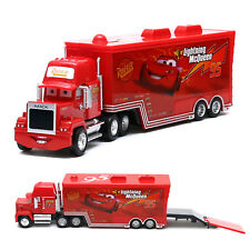 Disney Pixar Cars Mack & No.95 Lightning McQueen Truck 1:55 Diecast Loose New