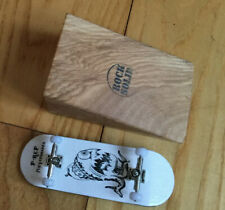 Solid Wood Fingerboard Kicker Ramp by Rock Solid