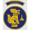 "Chindits Badge Cross Stitch Design (W152mm x H202mm (W6"" x H8""), kit or chart)"