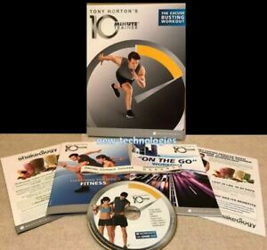 Beachbody's Tony Horton 10 Minute Trainer ~ The Excuse Busting 8-Workout DVD Set