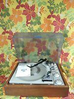 KLH Model Twenty 20 AM / FM Stereo Receiver w/ Garrard Turntable Very Nice