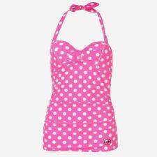 7c8730307d Ladies Hot Tuna Swimming Tankini Halter Neck Top Swimsuit Size 14 ( L )  D332-