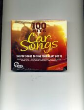 100 HITS - CAR SONGS - DOLLY PARTON WHAM! BELINDA CARLISLE EUROPE - 5 CDS - NEW!