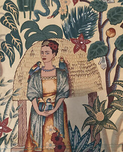 Frida Kahlo Inspired Motif Pillowcover Decorative Handmade