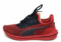 PUMA Men's Ignite Limitless Sr-71 Athletic Sneaker Red Black Size 10 M