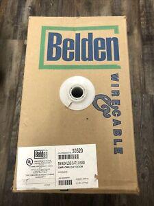 Belden White Cat5 Network Cable CMR/CMX Outdoor 868 FT