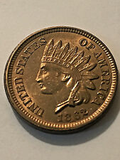 1862 Indian Head Cent CH BU #1135