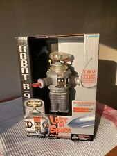 """Working Lost in Space Robot B9 Electronic 1997 Nos Trendmasters 10 1/2"""""""