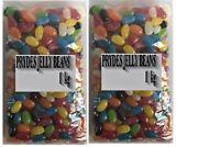 Bulk Lollies Prydes Jelly Beans 2kg Assorted Candy Buffet Halloween Party Favors