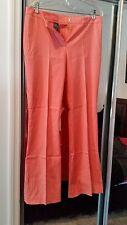 Women's Misses Jones Ny Spring Color Tangerine/Coral Pants Size 10