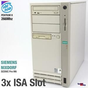 3x ISA SLOT SIEMENS NIXDORF SCENIC PRO M6 COMPUTER PC RS-232 PARALLEL AG D1085