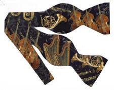 Orchestra Bow tie / Horns, Trumpets, Cellos, Violins, Harps / Self-tie Bow tie