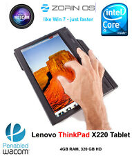Lenovo ThinkPad X220 Tablet i5 2.5GHz Multitouch 4GB 320GB HD Linux