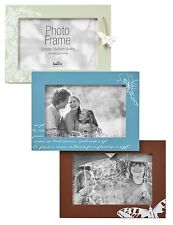 "Butterfly Wood Multi Aperture Photo Frame Picture Frame Holds 3 Photos 6""x4"""