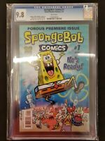 SPONGEBOB COMICS #1 CGC 9.8 UNITED PLANKTON PICTURES 2011  COMIC KINGS