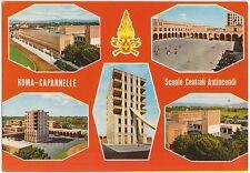 ROMA CAPANNELLE - VEDUTINE - SCUOLE ANTINCENDI -VIGILI DEL FUOCO - POMPIERI 1981