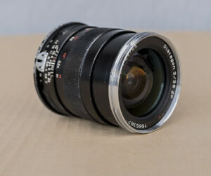 Carl Zeiss Distagon 2/28 ZF 28mm Lens for Canon
