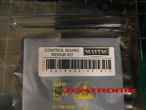 Control Board Repair Kit for 7601P432-60 12001620 12001661 Maytag