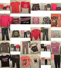 Girls Size 10, 10/12 Clothes, Justice Tops, Jeans, Skirts, Clothing, Outfits Lot
