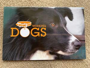 WORKING DOGS Set 5 Stamps Presentation Stamp Pack