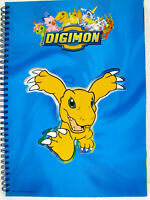 DIGIMON super quadernone a righe di 5a pagine intestate DIGIMON GIOCHI PREZIOSI