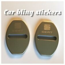 Seat car Polished Door Lock Covers. for Seat Ibiza Seat Lion