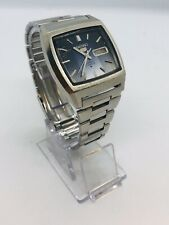 VINTAGE SEIKO 5 6319-5020 Automatic TV Shape Gents Strap Watch 1970's RARE.