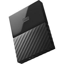 Western Digital HDD 2TB My Passport Black 625MB/s External Hard Drive st UK